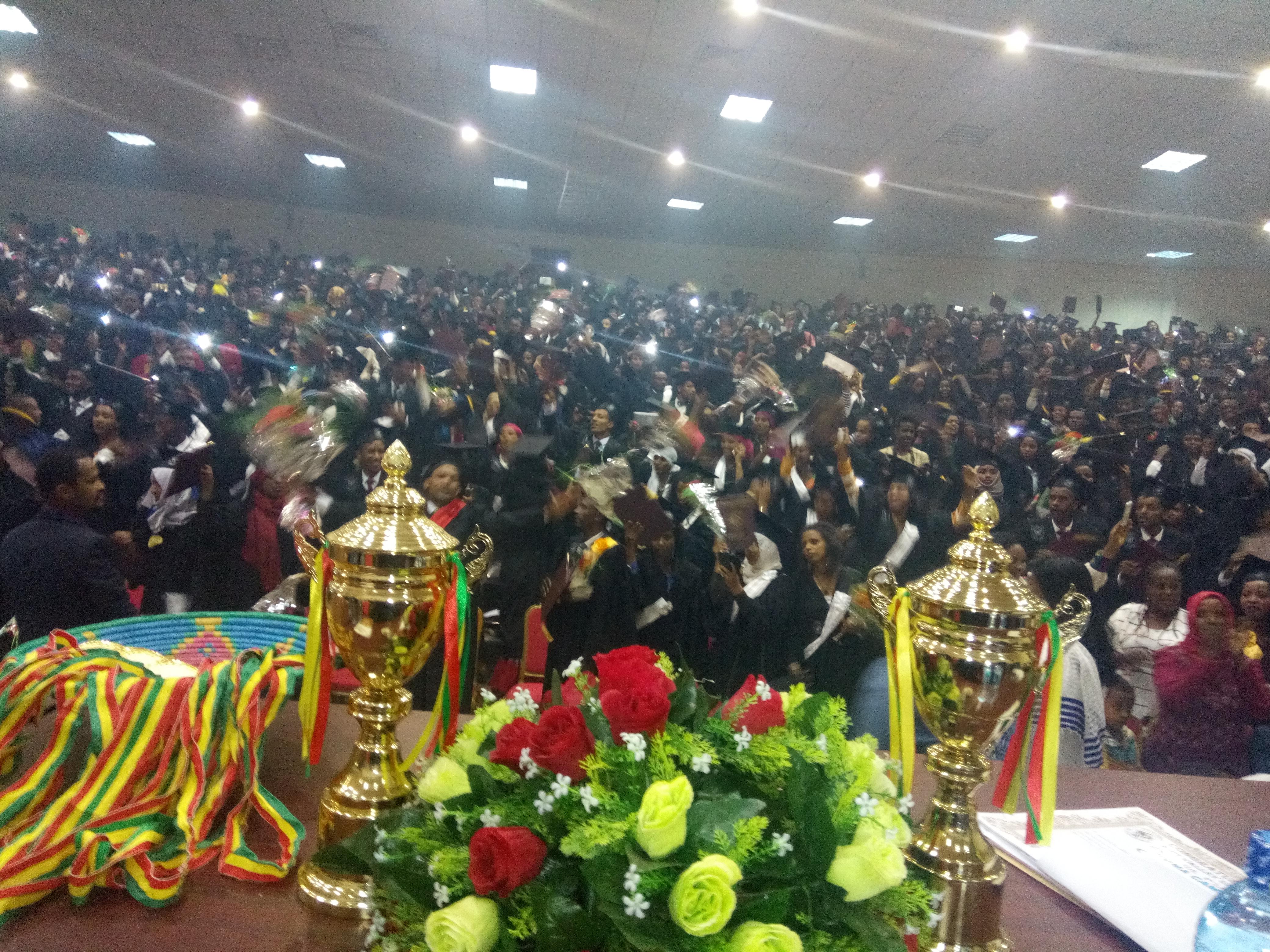 RVU-Jimma Campus Graduation Ceremony  - Rift Valley University