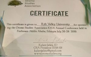 Rift Valley University has hosted the 33rd Annual Research